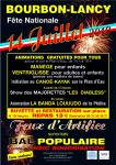 Festivités du 14 juillet à Bourbon-Lancy