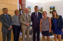 Rencontre entre M. André Accary, président du Conseil départemental (Saône-et-Loire)