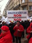 Manifestation des buralistes à Paris…