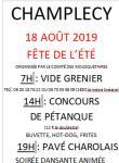 Fête de l'été du comité des fêtes de Champlecy (Sortir)