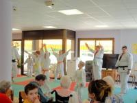 Judo et olympiade au Centre Hospitalier de La Guiche