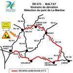 RD 973 – Commune de Maltat