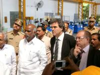 La Saone-et-Loire prend pieds en Inde
