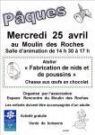 Pâques au Moulin des Roches (Toulon-sur-Arroux)