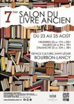 7ème édition du Salon du Livre Ancien de Bourbon-Lancy (Sortir)