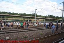 Les agriculteurs à la gare TGV…