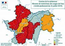 La sécheresse s'accentue dans le département de Saône-et-Loire