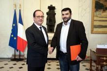 Agriculture – Rencontre François Hollande – Jérémy Decerle à l'Elysée