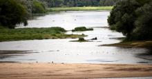 Faibles débits de la Loire et de l'Allier