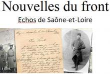"""""""Nouvelles du front, échos de Saône et Loire"""" (Sortir)"""