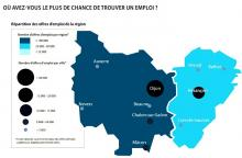 Jobijoba présente le « Baromètre 2016 de l'emploi enBourgogne – Franche Comté »