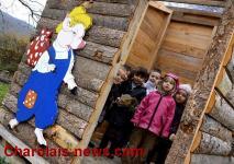 Remise du Prix Racouchot à l'école de Lournand