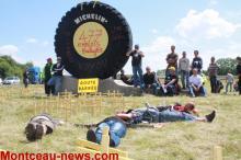 Social -  Il y a 10 ans : Michelin Blanzy en grève le 18 juin 2009 (Voir les vidéos)