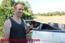 Alexandre Saunier, producteur de viande d'agneau à Ciry-le-Noble, un jeune éleveur avec son regard sur l'agriculture d'aujourd'hui