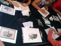 Atelier de vacances au Musée du Prieuré (Charolles)