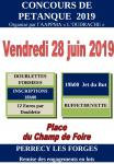 """Concours de pétanque de l' AAPPMA """"l'Oudrache"""""""