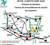 RD 979 – Commune de La Motte Saint-Jean