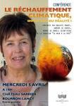 Conférence sur le réchauffement climatique (Bourbon-Lancy)