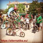 Le Tour Alternatiba au Rousset le 12 juillet 2015