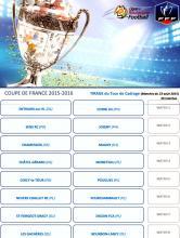 Tirages tour de cadrage et 2ème tour Coupe de France (Foot)