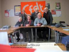 Assemblée générale 2016 de l'ULR CFDT de Gueugnon et du Charolais (Social)