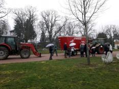 Ecole de Toulon-sur-Arroux bloquée...