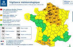 """Le département en vigilance météo """"Orange"""""""