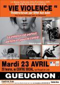 Action de prévention aux risques de la violence (Gueugnon)