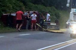 Accident sur la RCEA à la hauteur de Ciry-le-Noble...
