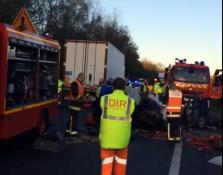 Accident sur la RCEA – RN 79 (près de Moulins)