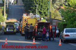 19 h 50 ce vendredi - Très grave accident ce jeudi soir à Montceau...