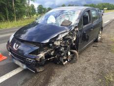 MONTCHANIN : 1 motard tué dans une collision