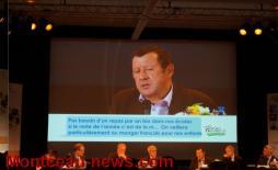 Assemblée générale de la FDSEA - Voir la vidéo