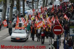 Réactualisé à 18 h 30 - Loi travail : nouvelle journée d'action à Montceau...VOIR NOTRE VIDEO