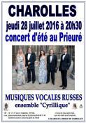 "Concert de l'ensemble ""Cyrillique"""