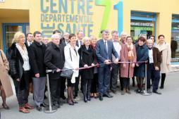Inauguration, ce jeudi matin, du  centre de santé départemental à Diogoin