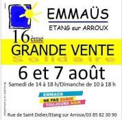 La communauté Emmaüs d'Etang sur Arroux