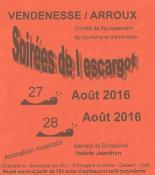 « Soirée de l'escargot » (Vendenesse-sur-Arroux)