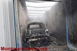 Incendie de garages rue de Lille au Bois du Verne