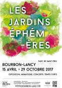 Jardins éphémères de  Bourbon-Lancy (Sortir)