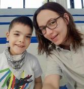 Association « Petit à petit avec Leny » : Leny et sa maman Lisa en Belgique pour 15 jours
