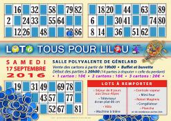 """Association """"Tous pour Lilou"""" (Solidarité)"""