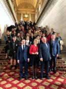 Les femmes élues de Saône-et-Loire invitées au Sénat