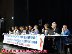 Congrès départemental don du sang bénévole à Montceau