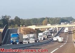 Levée d'interdiction de circulation des poids-lourds