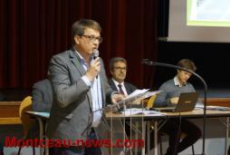 Réunion publique RCEA à Blanzy :  250 personnes dans la salle de l'EVA