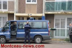 Réactualisé à 18 h 49 - Agression avec une hachette d'une femme par son mari à Montceau…
