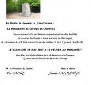 Comité du souvenir « Jean Pierson  » (Collonge-en-Charollais)