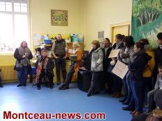 Réactualisé - L'école maternelle de Toulon sur Arroux complètement bloquée, ce lundi matin...