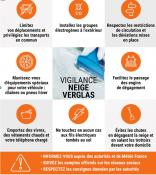 Alerte vigilance orange « neige-verglas »